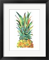 Bright Pop Pineapple I Framed Print