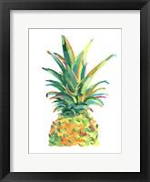 Bright Pop Pineapple II Framed Print