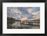 Framed Sunset Blues