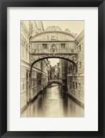 Framed Vintage Venice I