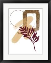 Slow Burn I Framed Print