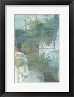 Terrene Abstract V Framed Print