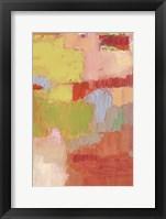 Bright Costa II Framed Print