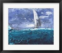 Framed Sail Ho I