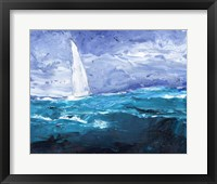 Framed Sail Ho II