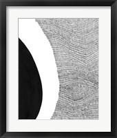 Black & White Abstract II Framed Print
