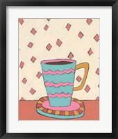 Framed Mid Morning Coffee I