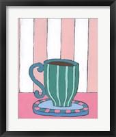 Framed Mid Morning Coffee II