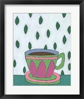 Framed Mid Morning Coffee IV