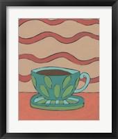 Framed Mid Morning Coffee IX