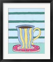 Framed Mid Morning Coffee VI