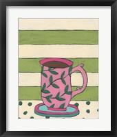 Framed Mid Morning Coffee VII
