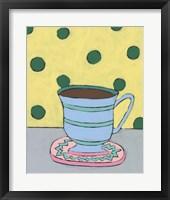 Framed Mid Morning Coffee VIII