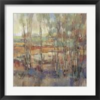 Kaleidoscopic Forest I Framed Print