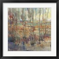 Kaleidoscopic Forest II Framed Print
