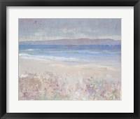 Beach Textures I Framed Print