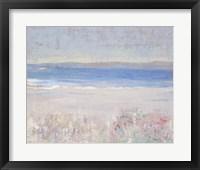 Beach Textures II Framed Print