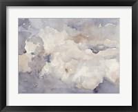 Clouds in Neutral II Framed Print