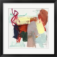 Abstract Metro Maps II Framed Print
