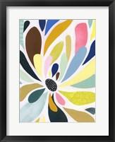 Abstract Petals II Framed Print