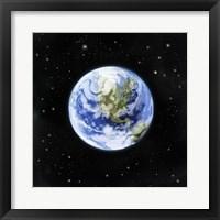 Framed Earth From Afar I
