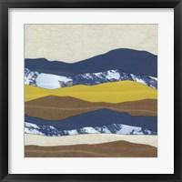Framed Mountain Series #20