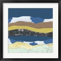 Framed Mountain Series #87