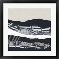 Framed Mountain Series #104