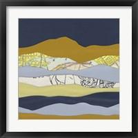 Framed Mountain Series #99