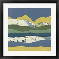 Framed Mountain Series #108