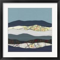 Framed Mountain Series #120