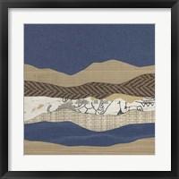 Framed Mountain Series #129