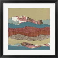 Framed Mountain Series #134