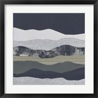 Framed Mountain Series #138