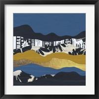 Framed Mountain Series #146
