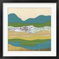 Framed Mountain Series #150