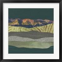 Framed Mountain Series #153