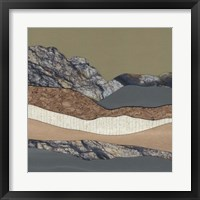 Framed Mountain Series #159
