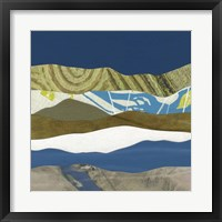 Framed Mountain Series #163