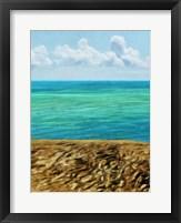 Rocky Beachside I Framed Print