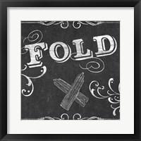 Vintage Laundry Signs VII Framed Print