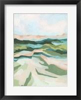 Tidal Valley I Framed Print