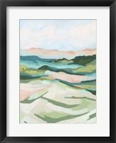 Tidal Valley II Framed Print