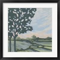 Sunset Tree I Framed Print