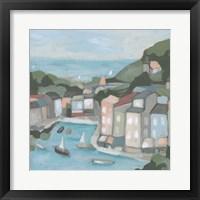 Villa Harbor I Framed Print