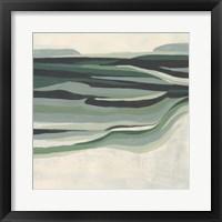 Green Mesa II Framed Print
