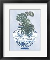 Moonlight Vase II Framed Print