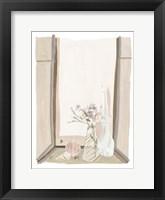 By My Window I Framed Print