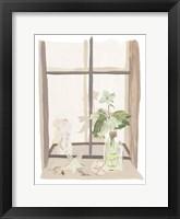 By My Window IV Framed Print