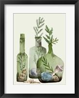 Ocean in a Bottle II Framed Print